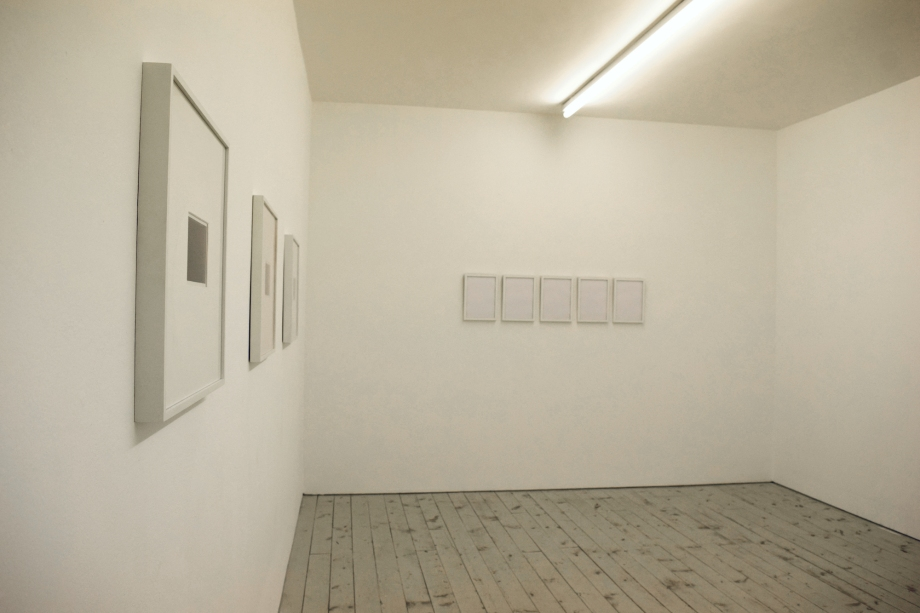 Katie Paterson 'History of Darkness' 2010 (on the left-hand side in the picture) [left and right] Courtesy of the Artist and Ingleby Gallery, Edinburgh [middle] Courtesy of the Artist and Collection SimonPaul